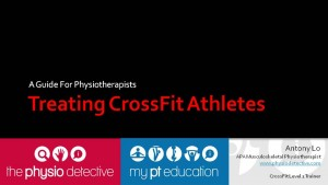 Treating CrossFit Athletes - Talk for APA Physios